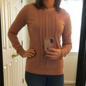 Dusty Rose Loft Sweater
